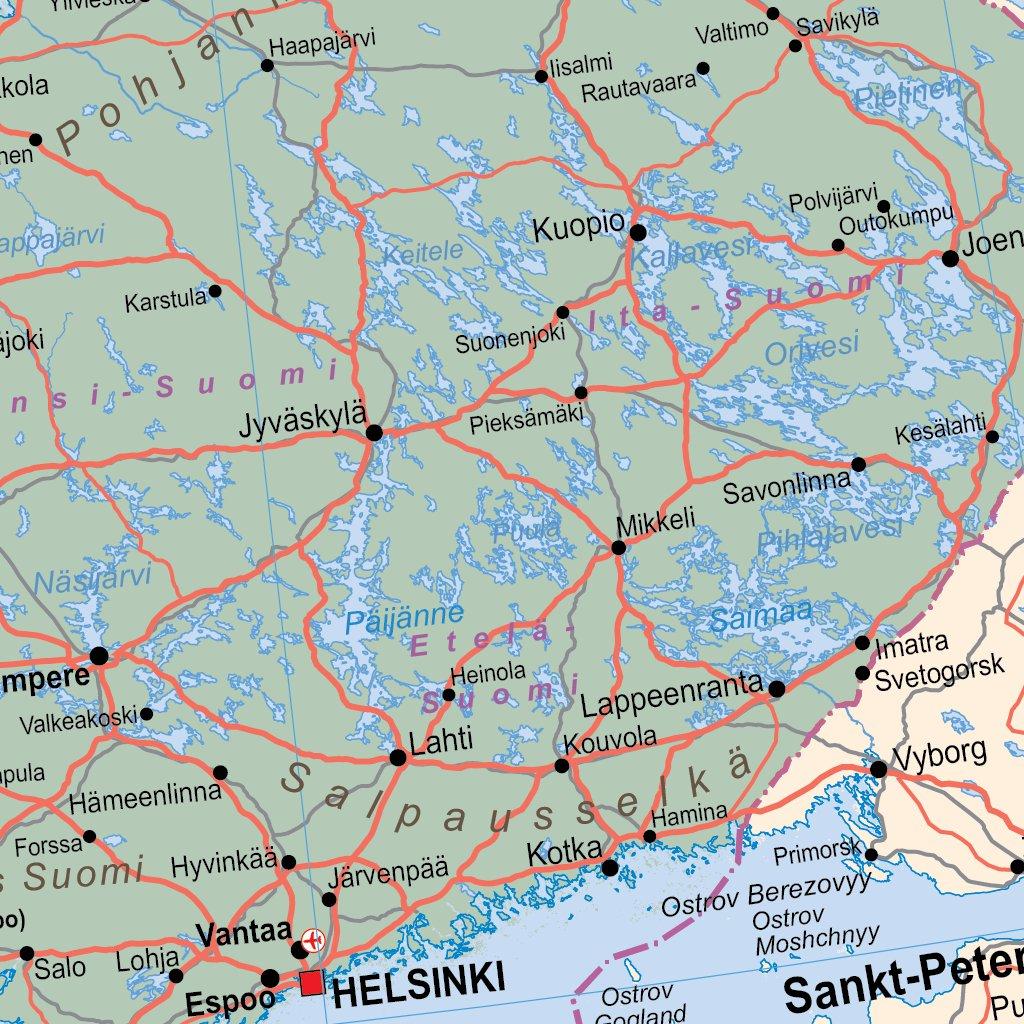 European Union 2019 PostBrexit iMap XYZ Maps Avenza Maps