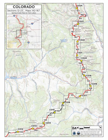CDT Map Set - Colorado - Continental Divide Trail Coalition