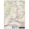 CDT Map Set - Colorado Sections 24-31 - Twin Lakes to Berthoud Pass