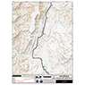 CDT Map Set - Wyoming Sections 1-5 - New Mexico Border to Spring Creek Pass
