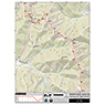 CDT Map Set - Montana-Idaho Sections 17-22 - Interstate 15 to Rogers Pass
