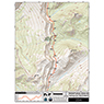CDT Map Set - Montana-Idaho Sections 23-25 - Rogers Pass to Marias Pass