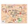 Michelin Nîmes, France Tourist Map