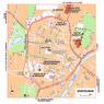 Michelin Montélimar, France Tourist Map