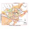 Michelin Fréjus, France Tourist Map