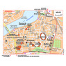 Michelin Arles, France Tourist Map