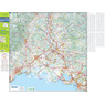 Michelin Provence, Camargue, FRANCE Motoring & Touring Map No. 113