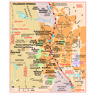 Michelin Colorado Springs Tourist Map