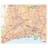 Michelin Nice, France Tourist Map