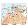 Michelin St-Tropez, France Tourist Map
