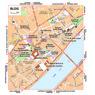 Michelin Blois, France Tourist Map