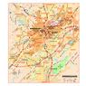 Michelin Birmingham, Alabama Tourist Map