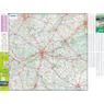 Michelin Châteaux of the Loire, FRANCE Motoring & Tourist Map No. 116