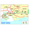Michelin Barcelona Airport/City Center Tourist Map