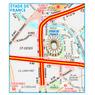 Michelin Stade de France Tourist Map