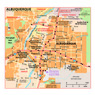 Michelin Albuquerque, New Mexico Tourist Map