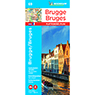 Michelin Bruges Road & Tourist Map No. 69 [Bundle]