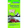 Michelin USA Deep South Including Florida Road & Tourist Map No. 177 [Bundle]