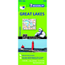 Michelin USA Great Lakes Road & Tourist Map No. 173 [Bundle]