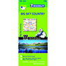 Michelin USA Big Sky Country Road & Tourist Map No. 172 [Bundle]