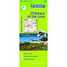 Michelin Châteaux of the Loire, FRANCE Motoring & Tourist Map No. 116 [Bundle]