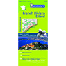 Michelin French Riviera, Esterel, FRANCE Motoring & Tourist Map No. 115 [Bundle]