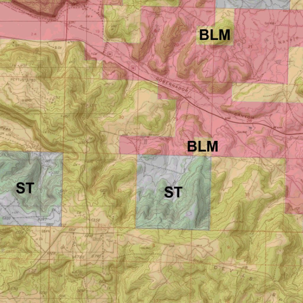 Unit 2b New Mexico Map.New Mexico Gmu 2b Hunt Map Map The Xperience Avenza Maps