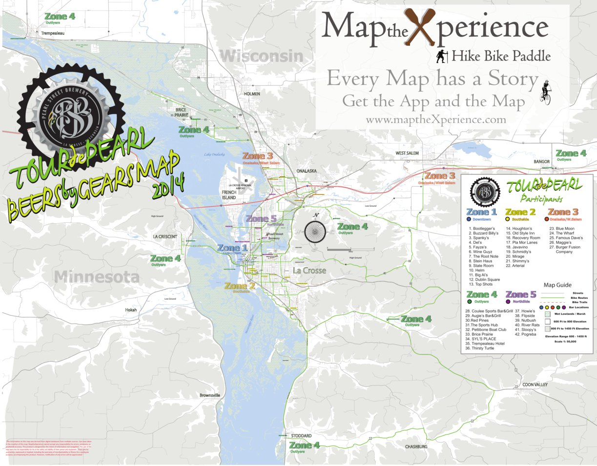 Tour de pearl beer by gears map 2014 map the xperience avenza maps preview and coverage gumiabroncs Gallery