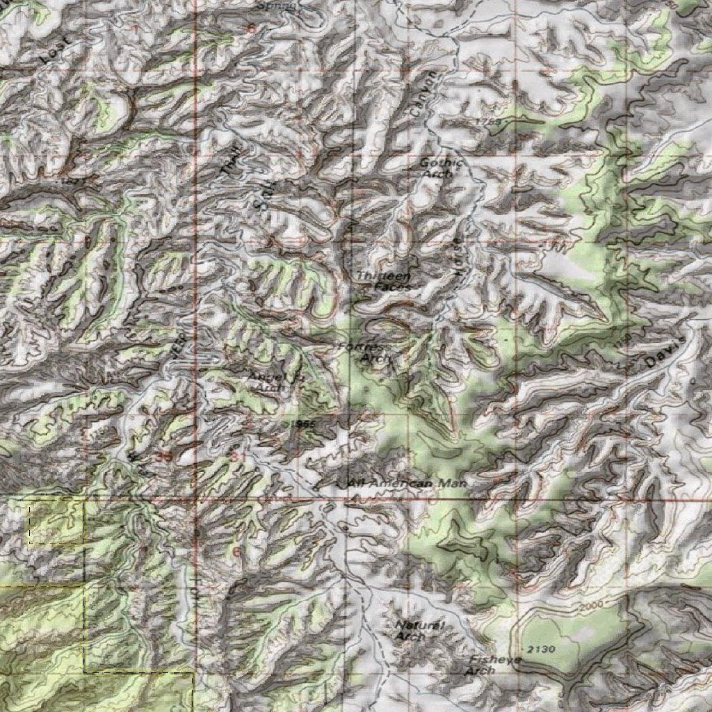 Utah DWR Hunt Map - San Juan/Hatch Point, Buck Pronghorn Antelope