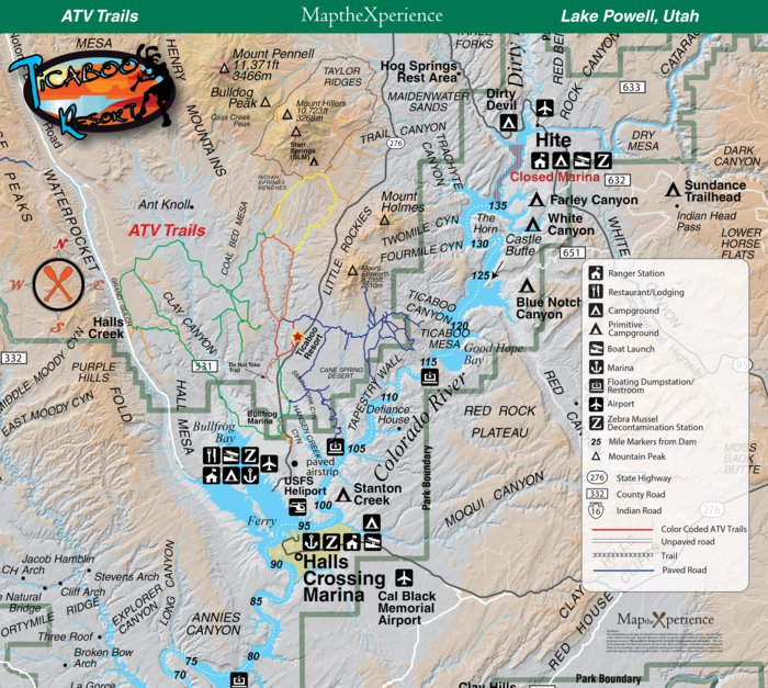 Ticaboo ATV Trails - Map the Xperience - Avenza Maps