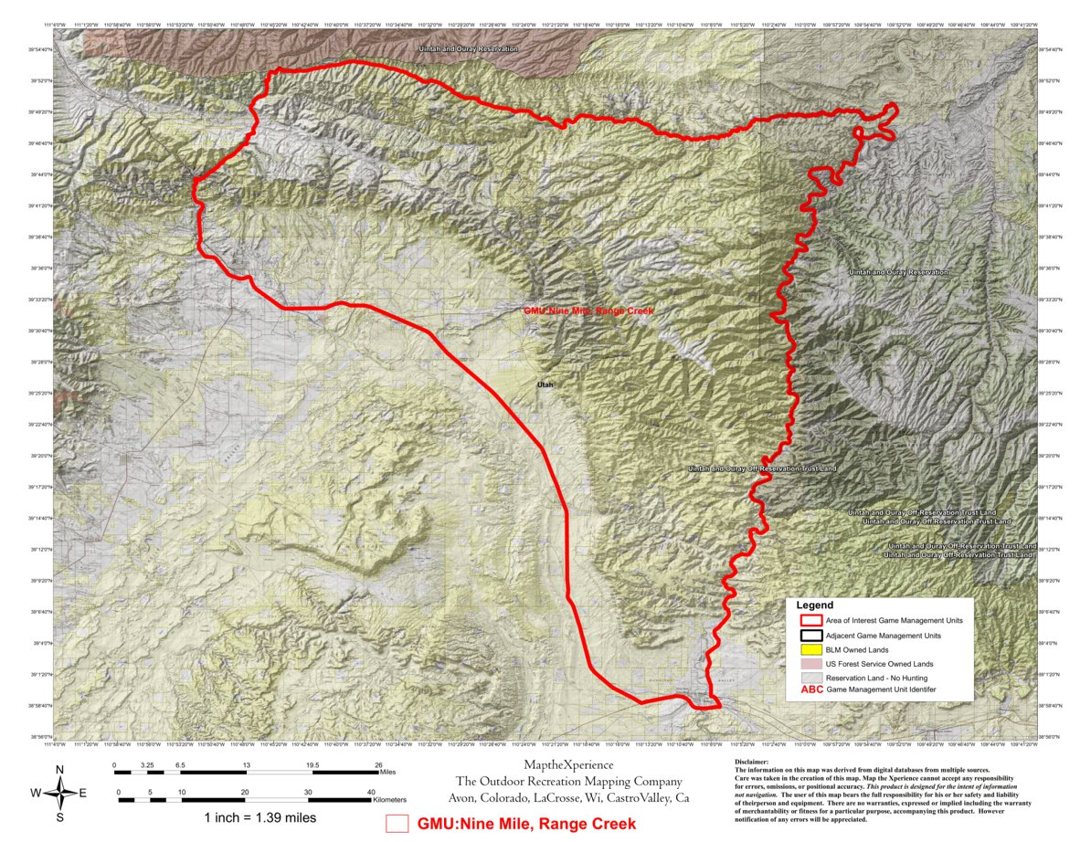 Short Creek Utah Map.Range Creek Utah Map Www Naturalrugs Store