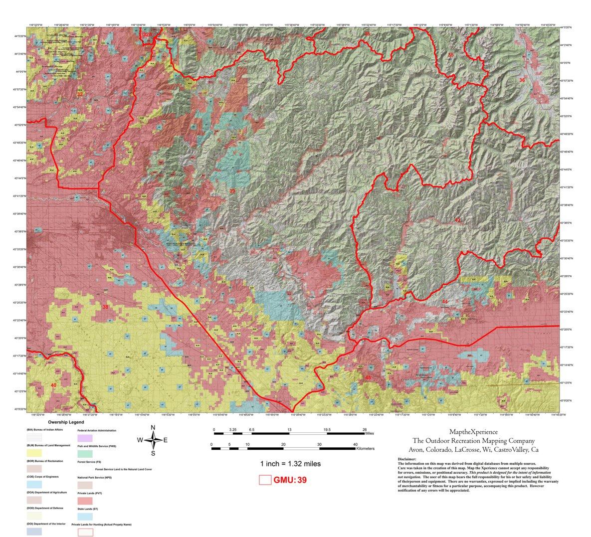Idaho Hunt Area 39