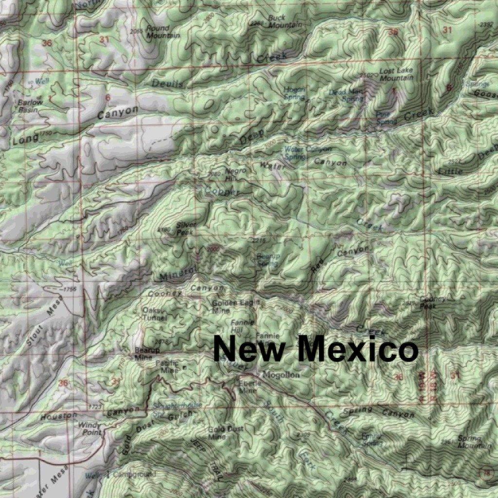 Unit 2b New Mexico Map.Arizona Gmu 27 Hunting Map Map The Xperience Avenza Maps
