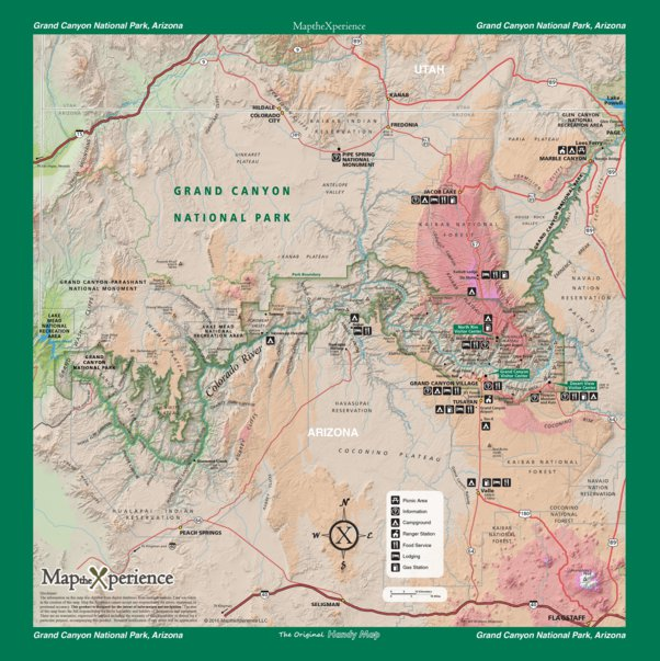 Grand Canyon National Park - Map the Xperience - Avenza Maps