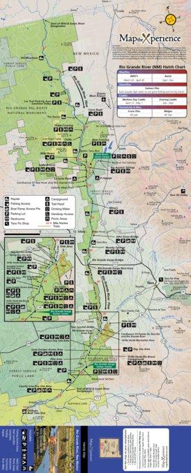 Rio Grande River New Mexico Map.Rio Grande River Fishing Map New Mexico Map The Xperience Avenza