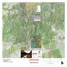 Animas River Topographic Fishing Map