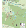 Beaver Creek Mountain Colorado Bike and Hike Trails Map