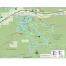 Vail Mountain Colorado Hiking and Biking Trails Map