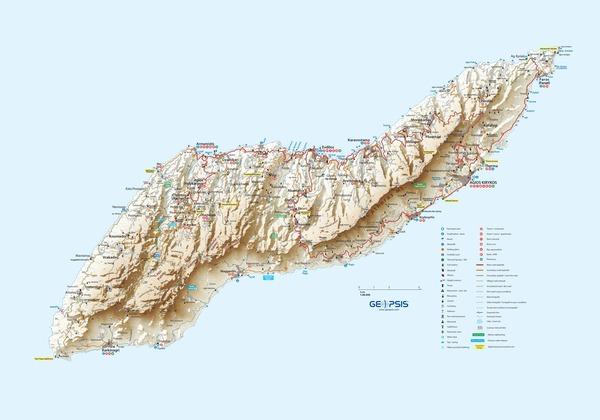 Ikaria 1:40.000 by GEOPSIS