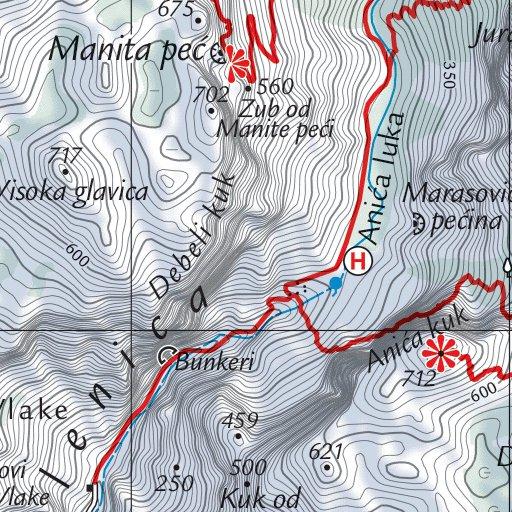 National Park Paklenica Free Croatian Mountain Rescue Service