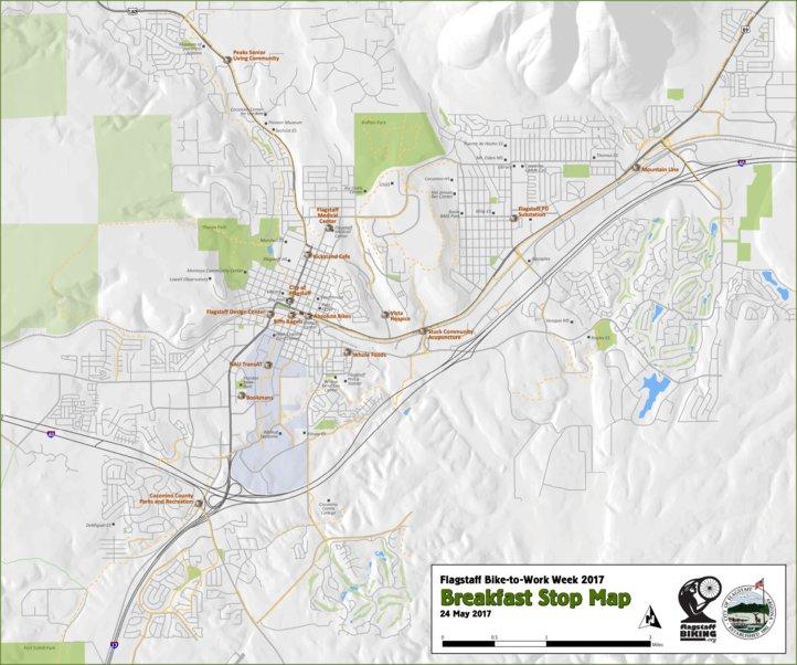 Flagstaff BTWW Breakfast Stops 2017