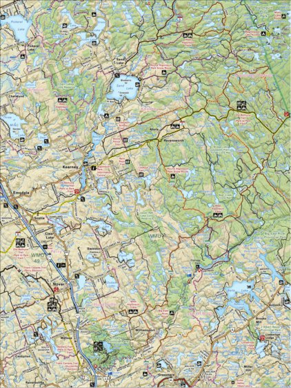 Map69.Map69 Kearney Cottage Country Backroad Mapbooks Avenza Maps