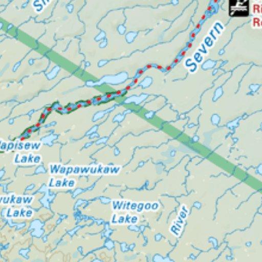 Map82 Big Trout Lake Northwestern Ontario Backroad Mapbooks