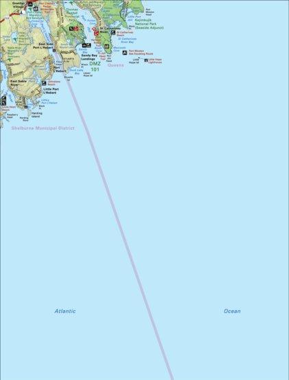 Map04 port l hebert nova scotia backroad mapbook backroad map terrain satellite labels gumiabroncs Choice Image