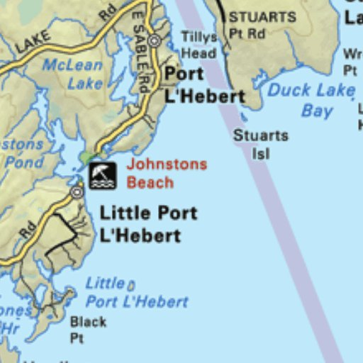 Map04 port l hebert nova scotia backroad mapbook backroad preview and coverage gumiabroncs Image collections