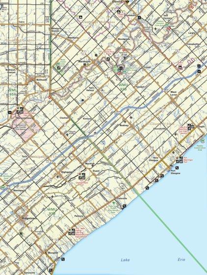 Ridgetown Ontario Map