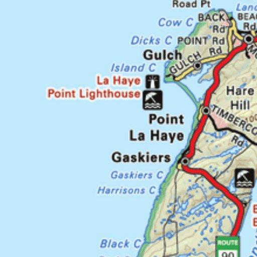 Strange Backroad Mapbook Newfoundland And Labrador Nlnl Map Bundle Interior Design Ideas Ghosoteloinfo