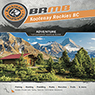 Backroad Mapbook Kootenay Rockies BC Topo BC (KRBC Map Bundle)