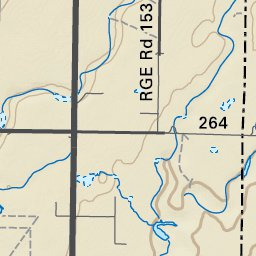 Map44 Homestead Coulee Southern Alberta Backroad Mapbooks