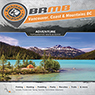 Backroad Mapbook Vancouver, Coast & Mountains British Columbia (VCBC Map Bundle)